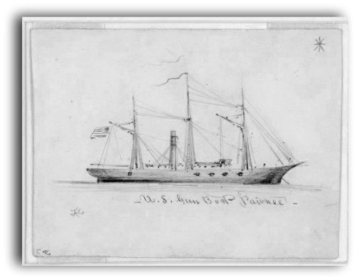 Pawnee sketch by A. R. Waud 1860
